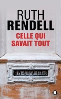 « Celle qui savait tout » de Ruth Rendell