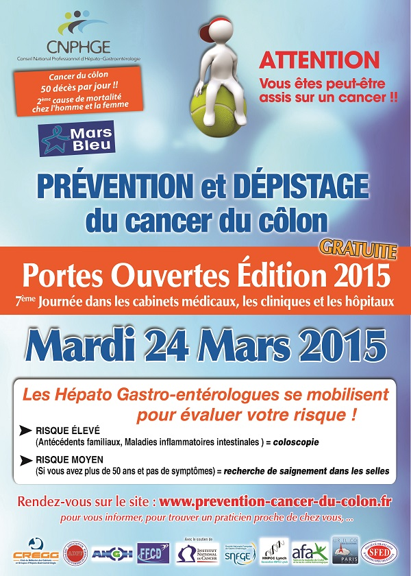 Cancer du côlon. 21 praticiens bretons participent à la journée nationale de dépistage