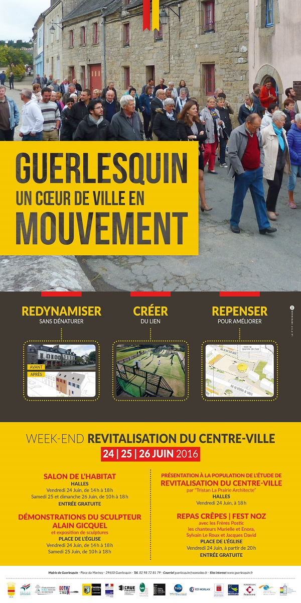 Guerlesquin. Un week-end consacré à la « revitalisation du centre-ville »